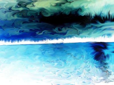Smudged Lake