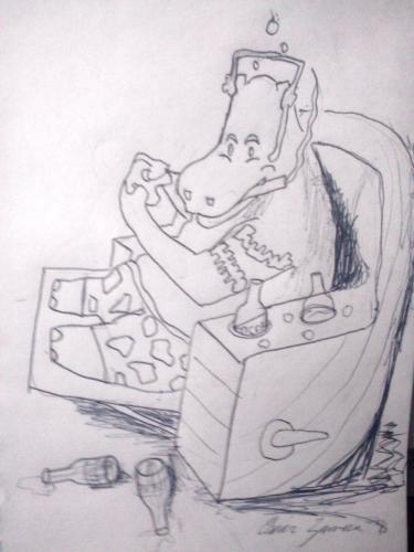 Hippo Sketch1